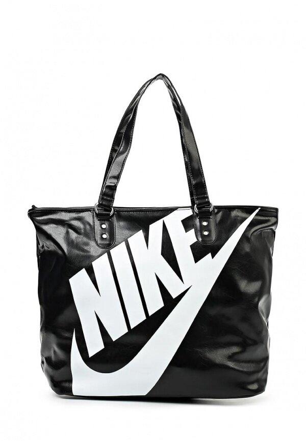 c94278d5 Сумка спортивная Nike 2537616, черный цвет
